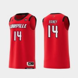 Men Louisville Cardinals Will Rainey Red Replica College Basketball Jersey