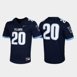 Men Villanova Wildcats 20 Navy Untouchable Game Jersey