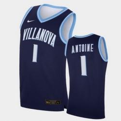 Men Villanova Wildcats Bryan Antoine Replica Navy College Basketball Jersey