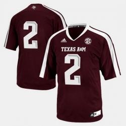 Men Texas A M Aggies College Football Maroon Jersey