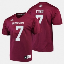Men Texas A M Aggies Keith Ford College Football Maroon Jersey