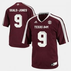 Men Texas A M Aggies Ricky Seals Jones College Football Red Jersey