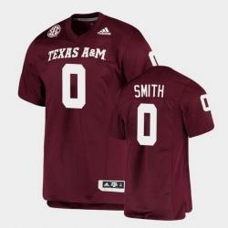 Men Texas A&M Aggies Ainias Smith Alumni Football Game Maroon Jersey