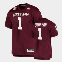 Men Texas A&M Aggies Buddy Johnson Alumni Football Game Maroon Jersey