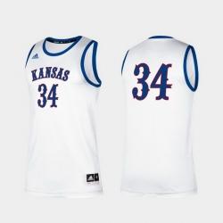 Men Kansas Jayhawks Paul Pierce Alumni White Classic Jersey (2)