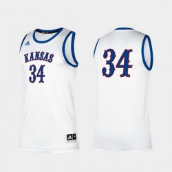 Men Kansas Jayhawks Paul Pierce Alumni White Classic Jersey