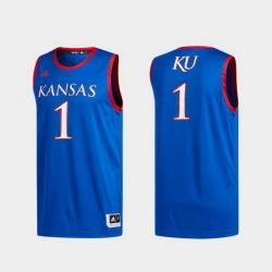 Men Kansas Jayhawks Royal Swingman Basketball Jersey