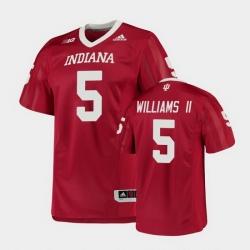 Men Indiana Hoosiers Dexter Williams Ii College Football Crimson Game Jersey