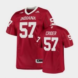 Men Indiana Hoosiers Harry Crider College Football Crimson Game Jersey