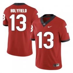2017 Elijah Holyfield 13 Red Jersey.jpg