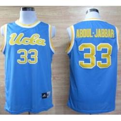 UCLA Bruins Kareem AbdulJabbar 33 College Basketball Jerseys  Blue