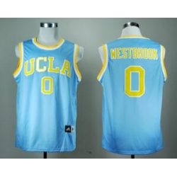 UCLA Bruins Russell Westbrook 0 Blue College Basketball Jersey