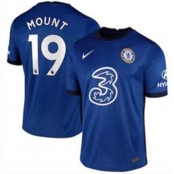 Chelsea Soccer Mount 19 blue jersey