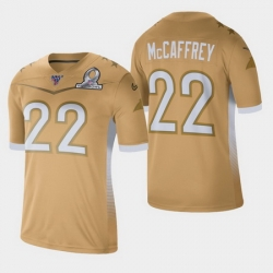 Men's Carolina Panthers #22 Christian McCaffrey 2020 NFC Pro Bowl Game Jersey