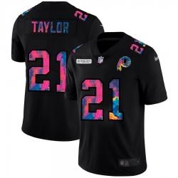 Washington Redskins 21 Sean Taylor Men Nike Multi Color Black 2020 NFL Crucial Catch Vapor Untouchable Limited Jersey