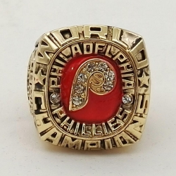 MLB Philadelphia Phillies 1980 Championship Ring