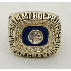 NFL Miami Dolphins 1972 Championship Ring