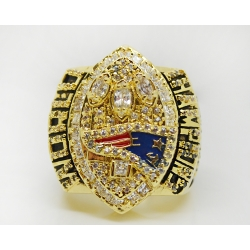 NFL New England Patriots 2004 Championship Ring 1