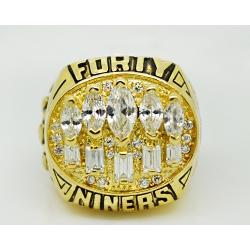 NFL San Francisco 49ers 1994 Championship Ring