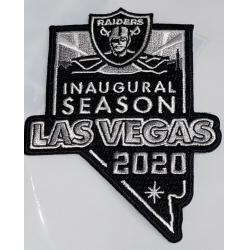 Raiders 2020 Inaugural Patch