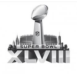 Stitched 2014 NFL Super Bowl 48 XLVIII Jersey Patch