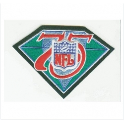 Stitched NFL 75th Throwback Jersey Patch