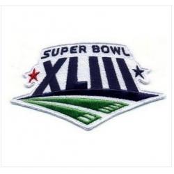 Stitched Super Bowl 43 XLIII Jersey Patch Pittsburgh Steelers vs Arizona Cardinals