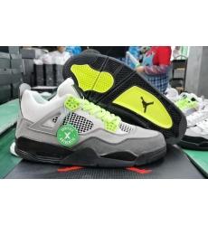 Nike Air Jordan 4 Retro Apple Green Nike Air Back Logo Men Shoes