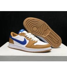 Air Jordan 1 Low Shoes Women 044