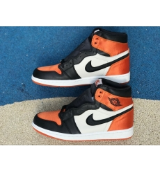 Air Jordan 1 Satin Backboard Women Shoes