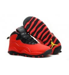 Air Jordan 10 Shoes 2014 Womens Red Black