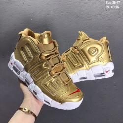 Supreme x Nike Air More Uptempo Men Shoes 001