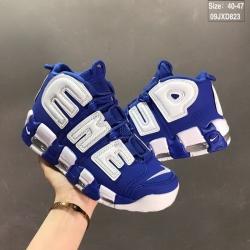 Supreme x Nike Air More Uptempo Men Shoes 002
