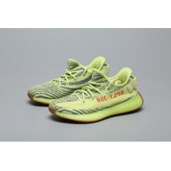 adidas Yeezy Boost 350 V2 Semi Frozen Yellow Men Shoes