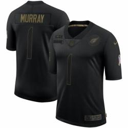 Men's Arizona Cardinals #1 Kyler Murray Black Nike 2020 Salute To Service Limited Jersey
