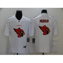 Nike Arizona Cardinals 1 Kyler Murray White Shadow Logo Limited Jersey