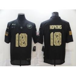 Nike Arizona Cardinals 10 DeAndre Hopkins Black Camo 2020 Salute To Service Limited Jersey