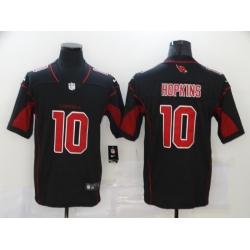Nike Arizona Cardinals 10 DeAndre Hopkins Black Color Rush Limited Jersey