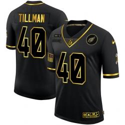 Nike Arizona Cardinals 40 Pat Tillman Black Gold 2020 Salute To Service Limited Jersey