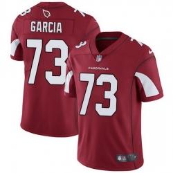 Nike Cardinals 73 Max Garcia Red Team Color Men Stitched NFL Vapor Untouchable Limited Jersey