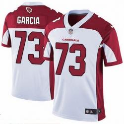 Nike Cardinals 73 Max Garcia White Men Stitched NFL Vapor Untouchable Limited Jersey