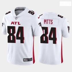 Men Atlanta Falcons Kyle Pitts White 2021 Draft Jersey
