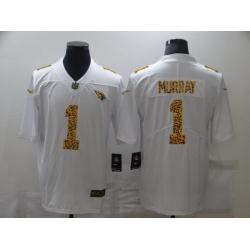 Nike Arizona Cardinals 1 Kyler Murray White Leopard Vapor Untouchable Limited Jersey