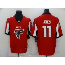 Nike Atlanta Falcons 11 Julio Jones Red Team Big Logo Vapor Untouchable Limited Jersey