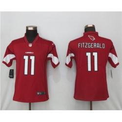 Women Nike Arizona St.Louis Cardinals 11 Larry Fitzgerald Red 2020 Vapor Untouchable Jersey