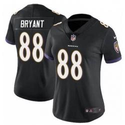 Women Baltimore Ravens Dez Bryant Black Vapor Untouchable Limited Jersey