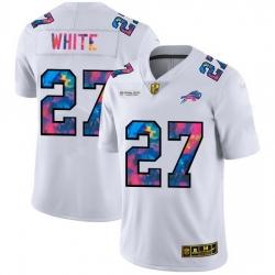 Buffalo Bills 27 Tre 27Davious White Men White Nike Multi Color 2020 NFL Crucial Catch Limited NFL Jersey