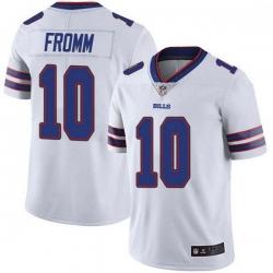 Men Buffalo Bills 10 Jake Fromm White Limited Vapor Limited Untouchable Jersey