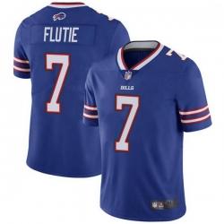 Men Buffalo Bills Doug Flutie Royal Limited Team Color Vapor Untouchable Jersey