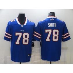 Men Nike Buffalo Bills Bruce Smith 78 Blue Vapor Limited Jersey